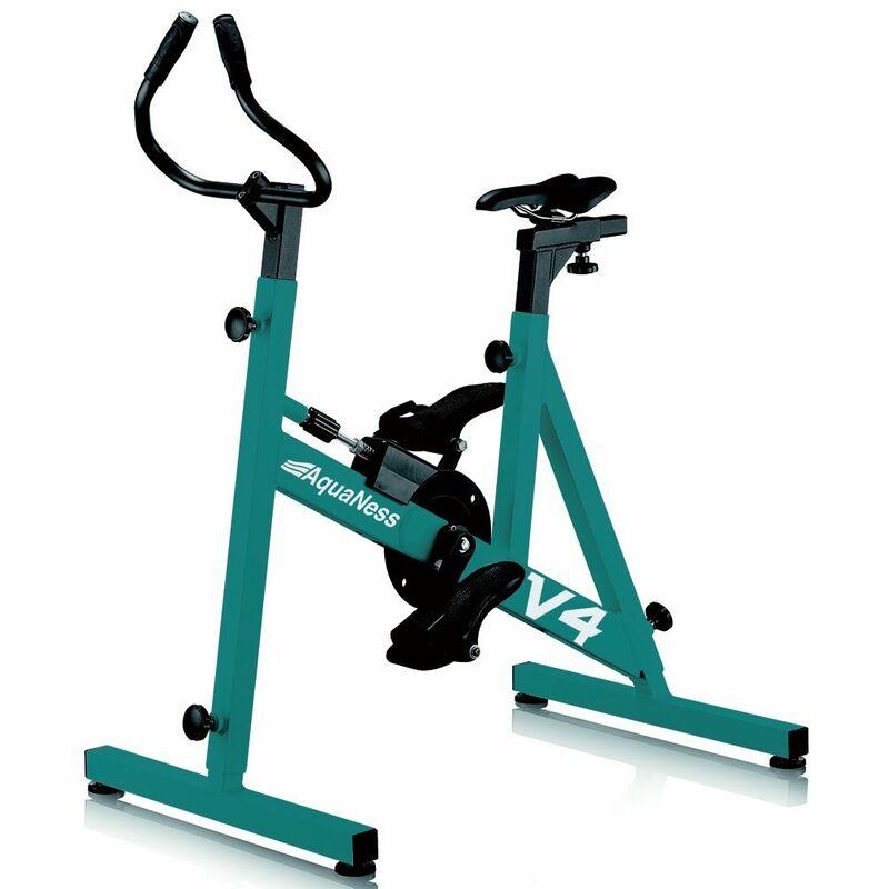 Vélo de piscine aquabike aquaness v4 vert d'eau