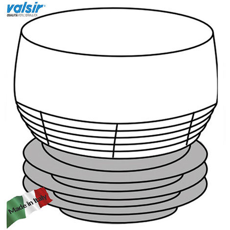 VALSIR VENTILATOR D 32 63 mm CE EN 12380 AVEC MEMBRANE