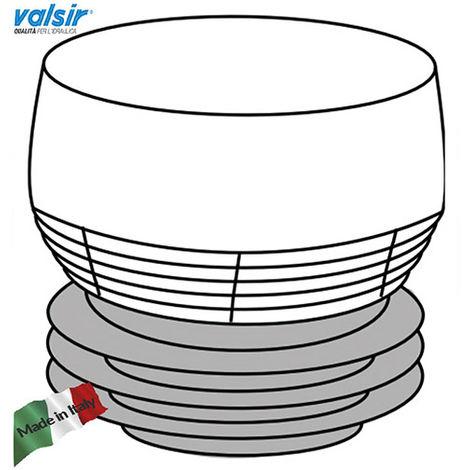 VALSIR Ventilo AERATORE D 32 63 mm CE EN 12380 CON MEMBRANA