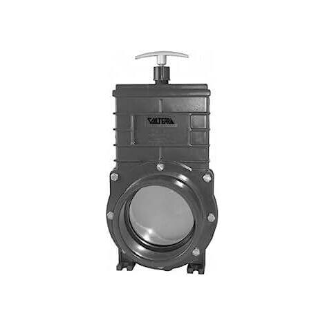 Valterra vanne guilloptine110mm avec broche en acier inoxydable, pression de travail 1bar