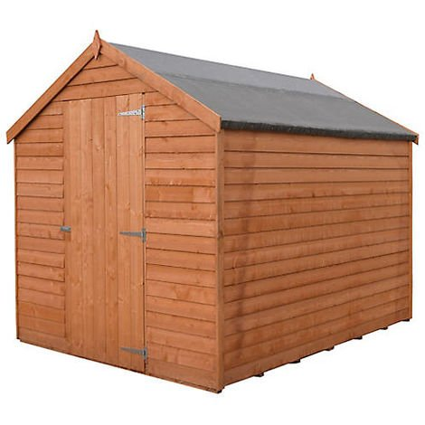 Value 6x8 Overlap Shed