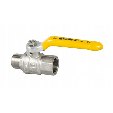 Valve ball valve for gas r / rp 1/2 gas gas New