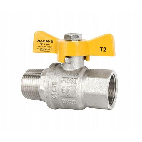 Valve ball valve for gas r / rp 1 '' gas b New