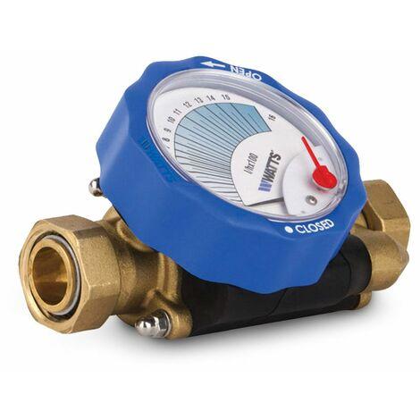 """Valve d'équilibrage de 1"""" pour installations de chauffage et de refroidissement"""