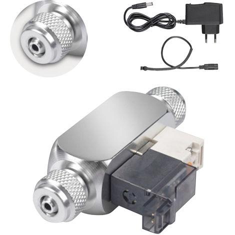 Valve Magnetique Electrique De Regulateur De Systeme De Co2, Double Tete, Sortie Dc 12V
