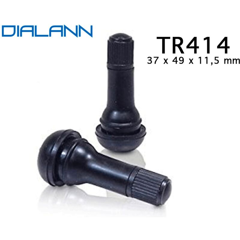 Valve pneumatique Tubeless TR414 37 x 49 x 11,5 mm