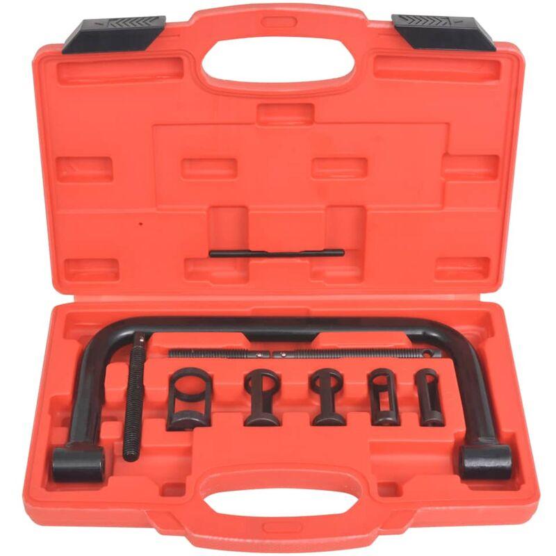 Image of vidaXL Valve Spring Compressor 10-Piece Tool Set
