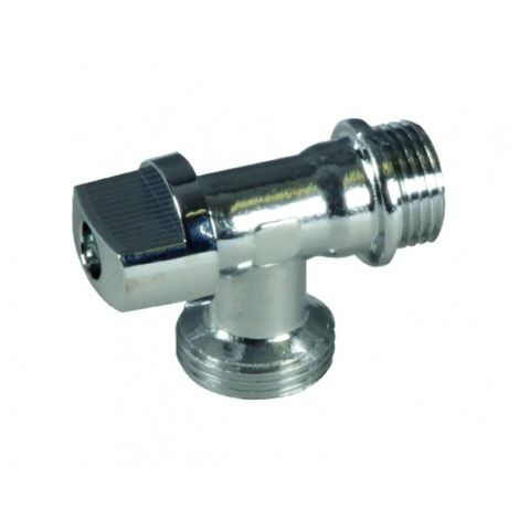 """Valves and fittings - 1/4 round bracket valve for washmachine M1/2"""""""