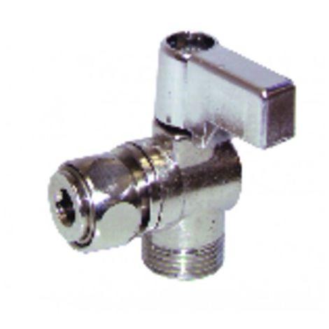 "Valves and fittings - Bracket valve MF3/8"" (X 10)"