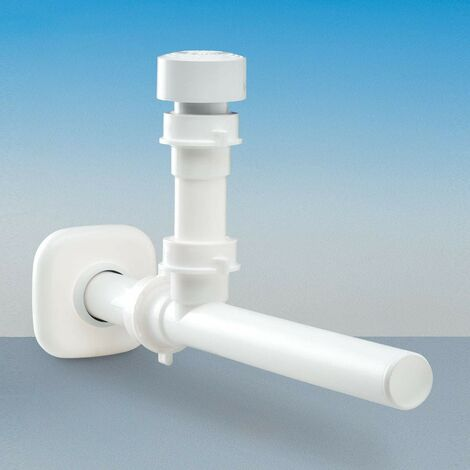 Válvula antibloqueo automática para lavabo Glu-Glu stop cucina LIRA 1510 | Blanco