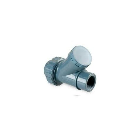 Válvula antirretorno de bola PVC encolar de 40 mm - HIDROTEN - Diámetro: Ø63 mm