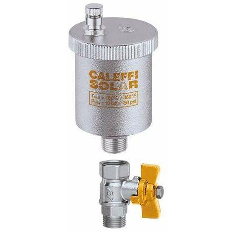 Válvula automática de purga de aire para instalaciones solares CALEFFI 250
