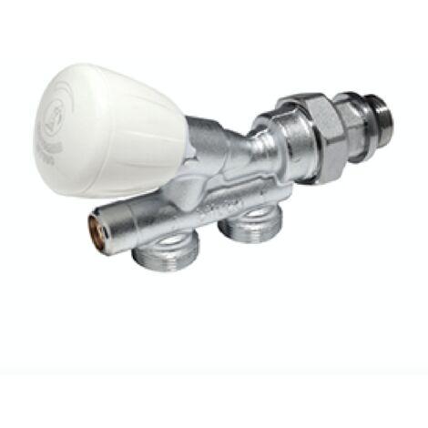 """main image of """"Válvula bitubo termostatizable de doble reglaje con conexión para adaptadores Giacomini R440N   1/2"""" x 16"""""""