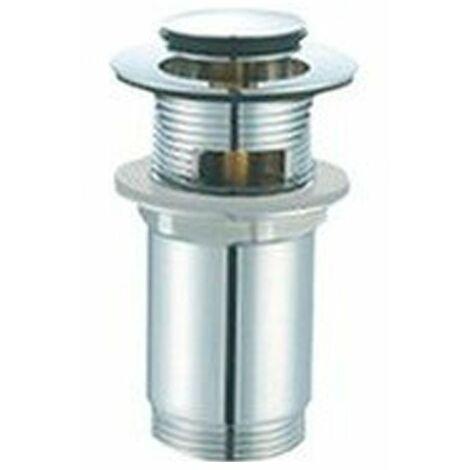"""Válvula clic-clac cromada para lavabo Medidas 1 1/4 66MM"""""""