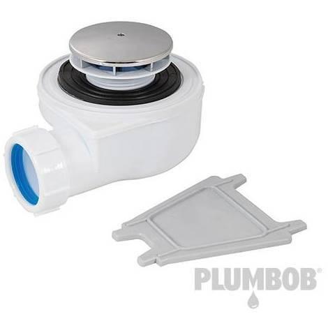 Válvula con sifón para duchas, 70 mm
