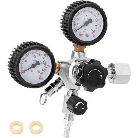 Valvula de alivio de presion del regulador de barril de CO2 de cerveza, presion de 0-3000 PSI