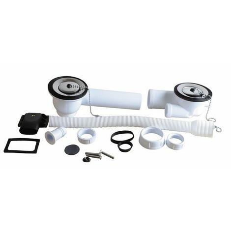 Válvula de Desagüe plástico - Diámetro 70 - NICOLL : 0204310