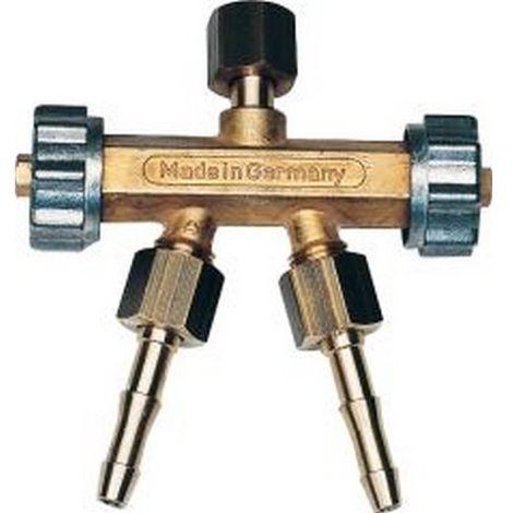 Válvula de desvío doble gas de combustión G 3/8 L