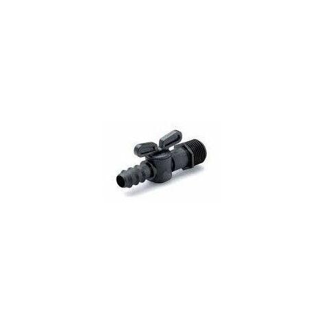 Válvula de goteo con rosca macho de 1/2 a 16 mm (BOLSAS COMPLETAS)