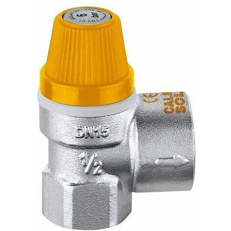 Valvula seguridad Calentador 1//2      T//MANO.3  bar