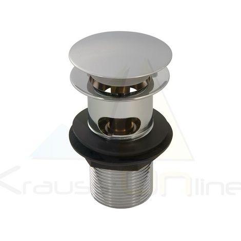 Válvula desagüe clic-clac, ranurado (Plumbob-999374)