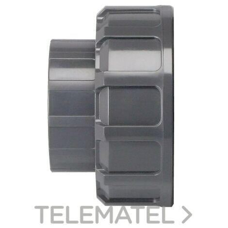 """main image of """"VÁLVULA ESFERA PVC DESMONTABLE 63 ENLACE ENCOLAR JIMTEN 052515"""""""