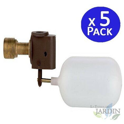 Válvula flotador de baja presión racor 3/8. 5 unidades