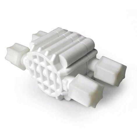 Válvula hidraulica de corte 4 Vías para equipo osmosis inversa