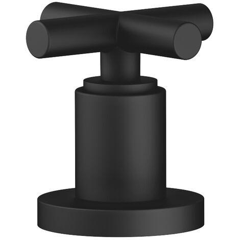 Válvula lateral Dornbracht Tara, 20000892, color: Negro Mate - 20000892-33