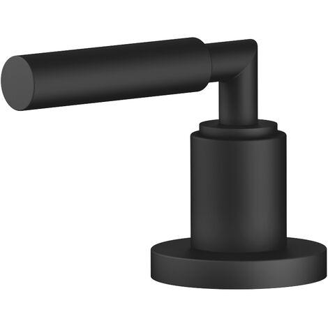 """Válvula lateral Dornbracht Tara, cierre a la derecha, 1/2"""", 20000882, color: Negro Mate - 20000882-33"""