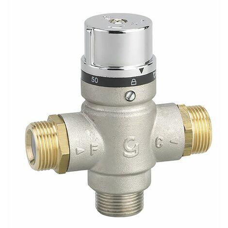 Válvula mezcladora termostática M3/4''