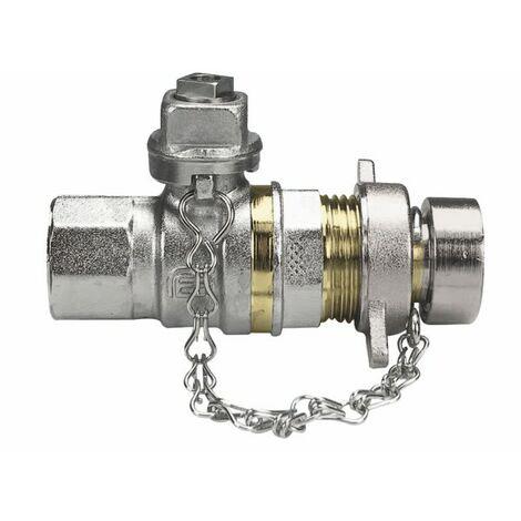 """Válvula MH con llave cuadrada+ tapa 1/2"""" - EFFEBI SPA : 2156"""