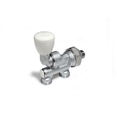 Válvula monotubo-bitubo termostatizable de doble reglaje Giacomini R304T