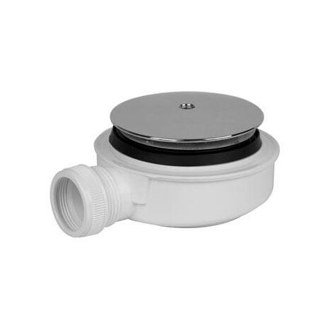 Válvula para plato de ducha Extraplana con tapa 115mm