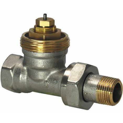 Válvula radiador recta Pn10 Dn - SIEMENS : VDN215