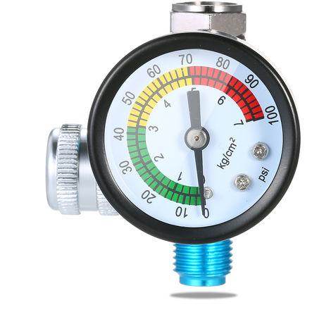 Valvula reguladora automatica de presion de 1/4 pulg., 150 psi, regulador de aire