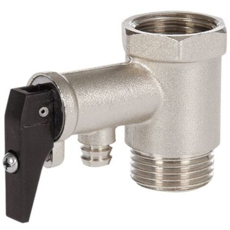 Valvula Seguridad Termo Calentador Electrico 1/2 10 Bares Antiretorno