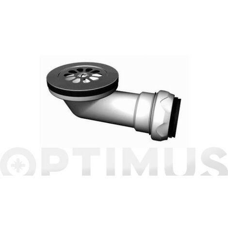 Valvula Sifonica Ducha �60mm.horiz.40mm.(i-101)