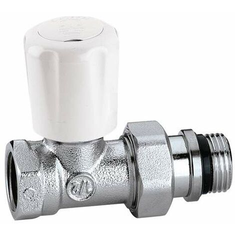 Válvula termostatizable Con pre-regulación Conexiones rectas para tubo en hierroCaleffi 422