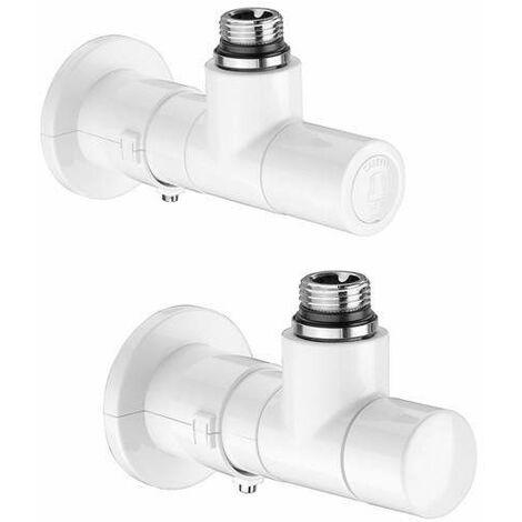 Válvulas high-style para radiadores toalleros caleffi 400100