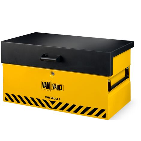 Van Vault 2 Tool Security Vehicle Storage Box 2019 Model