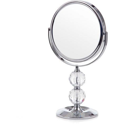 Vanity Mirror Silver BARISIS