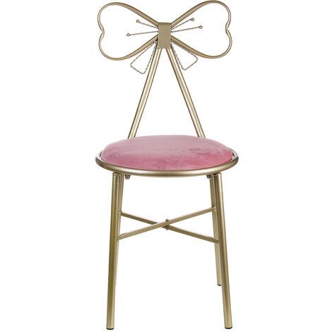 Vanity Stool Chair Make-up Stool Velvet