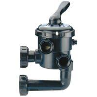 Vanne 1 1/2 New Generation avec montages - Noire de Astralpool - Catégorie Vanne piscine multivoie