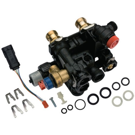 Vanne 3 voies + moteur - SAUNIER DUVAL : S1025500
