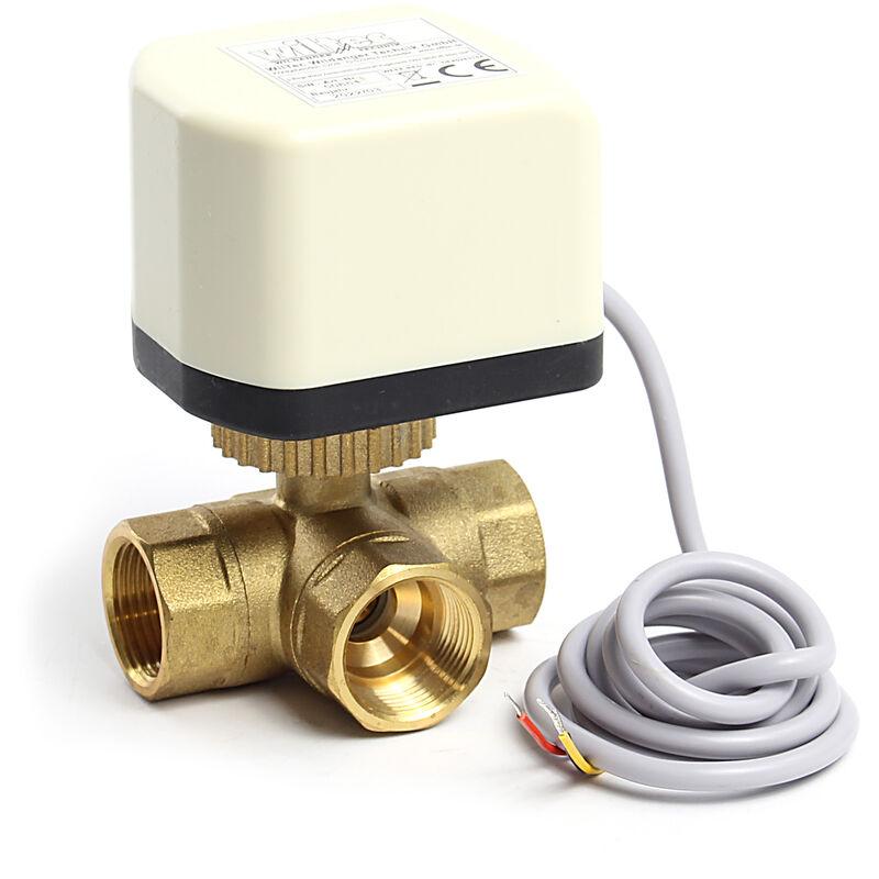 DC 12V vanne motoris/ée 2 voies 1//2 3//4 1 1-1//4 pouce electrovanne 12v eau 3//4 vanne electrique 12 volts DN20 3//4