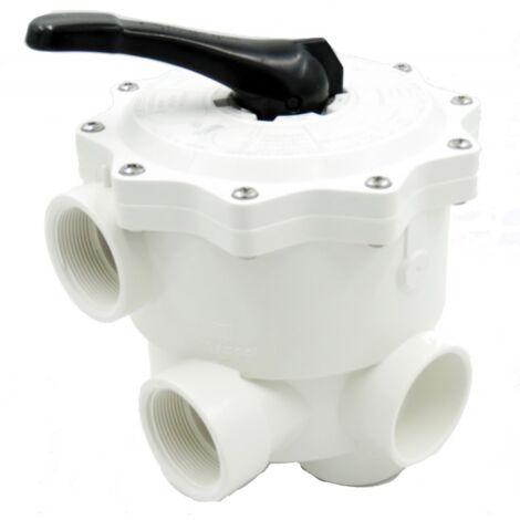 """Vanne 6 voies 2"""" pour filtre aqualux xeos-axos"""