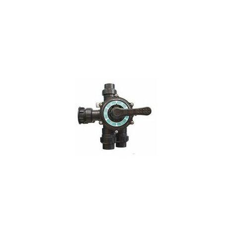 Vanne 6 voies pour filtre à sable de piscine bobiclair vert side 400/500/600