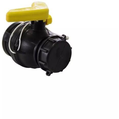 Vanne à bille 56mm avec écrou flottant et joints LDPE - S60x6