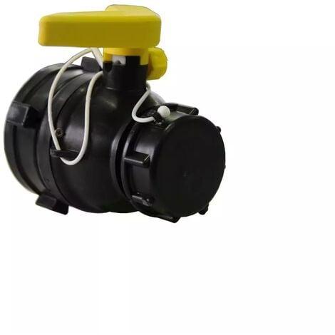 Vanne à bille 75mm avec écrou flottant et joints LDPE - S60x6